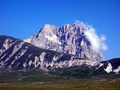 You what, you climbed that thing? Piss off! Corno Grande from Campo Imperatore.