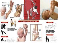 ¿Has oído hablar de de la subluxación en algunos bebés? Lee este post que advierte de ello a los papás.