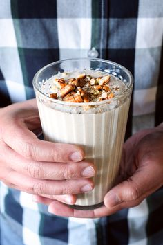 This easy and healthy Toast Oat and Pecan Smoothie recipe is a delicious treat for the new year.