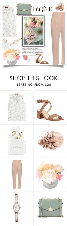 """Sophisticated"" by emina-la ❤ liked on Polyvore featuring MaxMara, Nine West, Marc Jacobs, Anastasia Beverly Hills, Alexander McQueen, Côte Noire, DKNY and Jennifer Lopez"