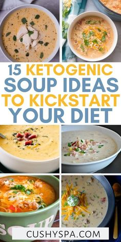 15 Ketogenic Soup Ideas to Kickstart Your Diet Keto soups will help you to stay in ketosis and will do for a great ketogenic dinner. Make one pot of low carb soup and stay full for the rest of the day. Waffle Recipes, Soup Recipes, Diet Recipes, Cooking Recipes, Healthy Recipes, Vegetarian Recipes, Slow Cooker Turkey, Slow Cooker Chili, Healthy Slow Cooker