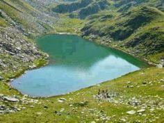 Amazing Heart shaped Lake in Gilgit, Pakistan
