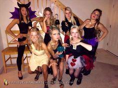 Disney+Villians+All-Girl+Group+Costume