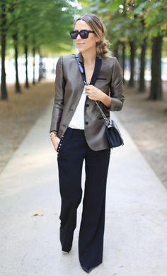 Trouser + statement jacket