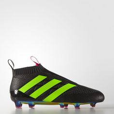 new concept 530e3 20bc8 ACE 16 PURECONTROL FG AG - Negro Soccer Boots, Mens Soccer Cleats, Football