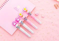 Sailor Moon 10 Colors in one Ballpoint pen , Pretty Pens, Cute Stationery, pen, kawaii pens Sailor Moon Wands, Kawaii Pens, Stationery Pens, Decorative Tape, Games Box, Ballpoint Pen, Cute Pink, Stationary, Etsy Shop