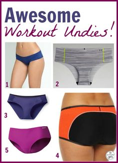 We know not *everybody* wears undies while working out, but if you do, we've got all kinds of great underwear options for you!