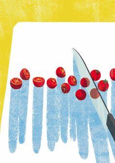 View the online illustration portfolio of Tatsuro Kiuchi. Japan Illustration, Art Drawings Beautiful, Fruit Print, Art Graphique, Food Illustrations, Japanese Art, Food Art, Print Patterns, Images