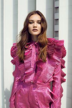 ELLE Kazakhstan June 2017 Nathalie Nyren by Daniela Rettore - Fashion Editorials