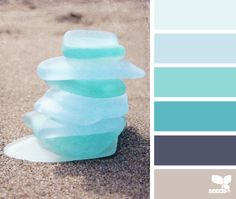 sea glass. Office colors