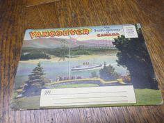 Souvenir Postcard Folder  VANCOUVER  The by BookShopBiblioteque, €12.50