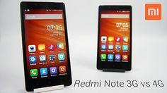 Redmi Note 3G vs 4G Comparison