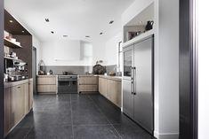 Idee Keukens Roeselare : Moderne open keuken keukens realisaties vloer pinterest open