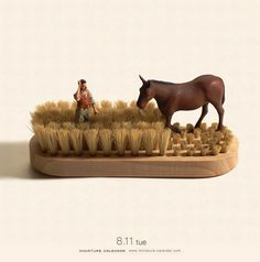 Miniature Calender | Tatsuya Tanaka