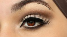 I achieved this look using the Urban Decay Naked 2 palette but you can substitute the eyeshadows with whatever you wish. If you are Using MakeupGeek Eyeshadows Use Mercury on the moving lid, Brown Sugar in the crease, Creme Brulee to blend out the hard edges of Brown sugar, use Bada Bing underneath the lower [...]