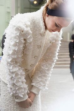 CHANEL Fall 2015 backstage #PFW
