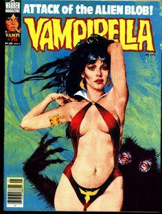 VAMPIRELLA #75 Jose Gonzalez Rafael Auraleon Esteban Maroto Jose Ortiz Sexy Blood Sucking Vampire Cult Anti-Hero