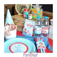 Denizci temasıyla hazırlanmış harika bir parti günü bugün! www.partistar.com #parti #partistar #party #partimalzemeleri #partisüsleri #kişiyeözelparti #doğumgünü #doğumgünüsüsleri #doğumgünüpartisi #doğumgünüorganizasyonu #doğumgünüorganizasyon #partisüsü #birthday #mutluyıllar #denizcidoğumgünü #denizci #mavi #deniz #erkek
