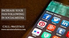 Increase your Fan Following inSocial Media, Call : 9063255632