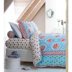 shabby chic comforters | Shabby Chic duvet set blue - single