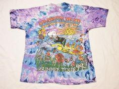 Vintage 1994 Grateful Dead Summer Tour Tie-dye T-Shirt. XL $47.00 used excellent condition.