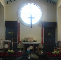 Our Altar at Christmastime 2013