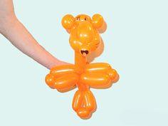 Тигр Инструкция Как делать из Фигурку из шариков