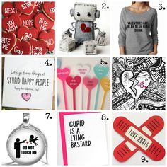 Nothing like Valentine's Day rolling around when you're mid-breakup, or in limbo with someone who is making you miserable. The trouble is, it's not just one day. Anti Valentines Day, Valentine Day Gifts, Letter To My Ex, Happy People, Gift Guide, Lettering, Make It Yourself, Breakup, Cards