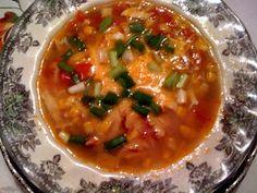 Sweet Tea and Cornbread: Chicken Fajita Soup!