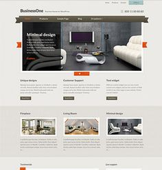 BusinessOne Business theme for WordPress