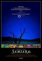 Samsara.  Visually stunning. There are literally no words. A gorgeous journey that swirls and floats you around the globe.
