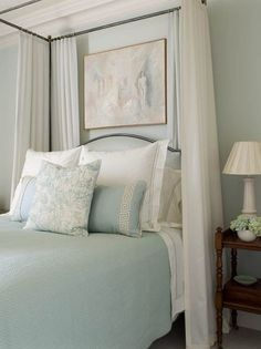Blue Hubbard by Martha Stewart for Sherwin-Williams wall paint color (discontinued but you can still ask for it) - Mrs. Howard's showroom in Atlanta