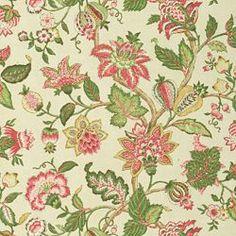 Home Decor Print Fabric-Pkaufmann Boscobel Spring, , hi-res Pillow Fabric, Chair Fabric, Kalamkari Designs, Textile Patterns, Textiles, Calico Corners, Pink Tiles, Geometric Flower, Church Design