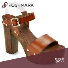 a527da95f14ae Shop Women s Mossimo Supply Co. size Heels at a discounted price at  Poshmark. Description  Cali Quarter Strap Sandals - Mossimo Supply Co.