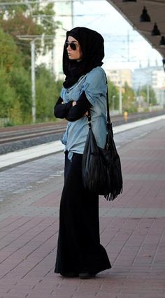 casual oufit #hijab #hijabi #style #fashion