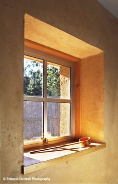 Strawbale window Solaripedia | Green Architecture & Building | Projects in Green ...