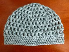 Crochet Puff Stitch Hat  Size Ladies by TheBlueLantern on Etsy, $18.00