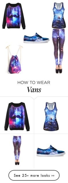 """Untitled #20"" by lilakdeboer on Polyvore featuring Vans"
