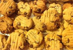 Peanut Butter Choc Chip Cookies - Real Recipes from Mums