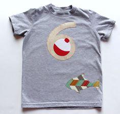 Fishing Birthday Shirt Third Birthday Shirt by mylittlemookie