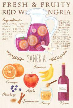 サングリアレシピ