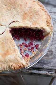 Cranberry Pie (gluten free)