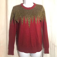 Lucca Couture Rust Gold Sweater sz XS Crew Neck Great condition, no issues - let's be friends add me on Instagram @OrnamentalStone Facebook Group: Jaded And Traded Pinterest OrnamentalStone /Jaded And Traded Clothes For Sale xoxo Lucca Couture Sweaters Crew & Scoop Necks