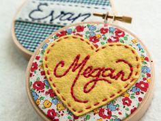 Mini Embroidery Hoops