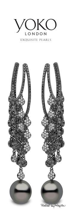 Regilla ⚜ Yoko, London #jewels #luxury #diamonds #earrings