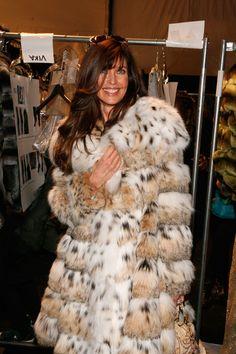 Carol Alt Photos: Dennis Basso - Backstage - Fall 2013 Mercedes-Benz Fashion Week