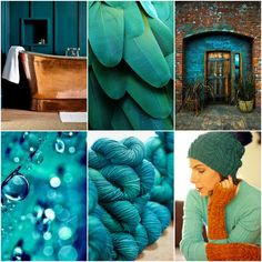 copper tub , feathers , doorway , raindrops , TFA Orange Label in Abyss (TFA Year In Colour Club Sept. Ah Caramel Hat and Mitts patterns . Abyss is the September Year In Colour Club colourway an Tanis Fiber Arts, Copper Tub, Color Club, Concept Board, Boxing Day, Sock Yarn, Color Theory, Merino Wool Blanket, Knitting