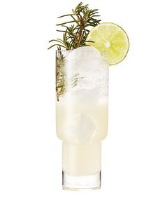 Rosemary Fizz | Homemade rosemary syrup lends this simple citrus and soda drink a sophisticated herbal edge. The best part? One batch of syrup takes only minutes to make and is enough for multiple drinks.