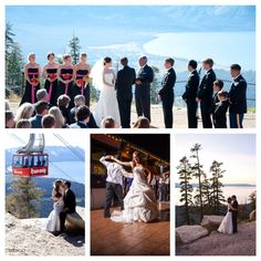 Heavenly wedding Lake Tahoe:  @Mikala Kristine I feel like this is so you!