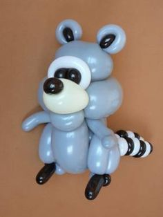 Mapache de globos - Balloons Raccoon
